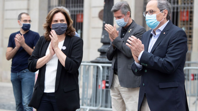 Ada Colau denunció errores en el sistema de rastreo de contactos de la Generalitat. (EFE)