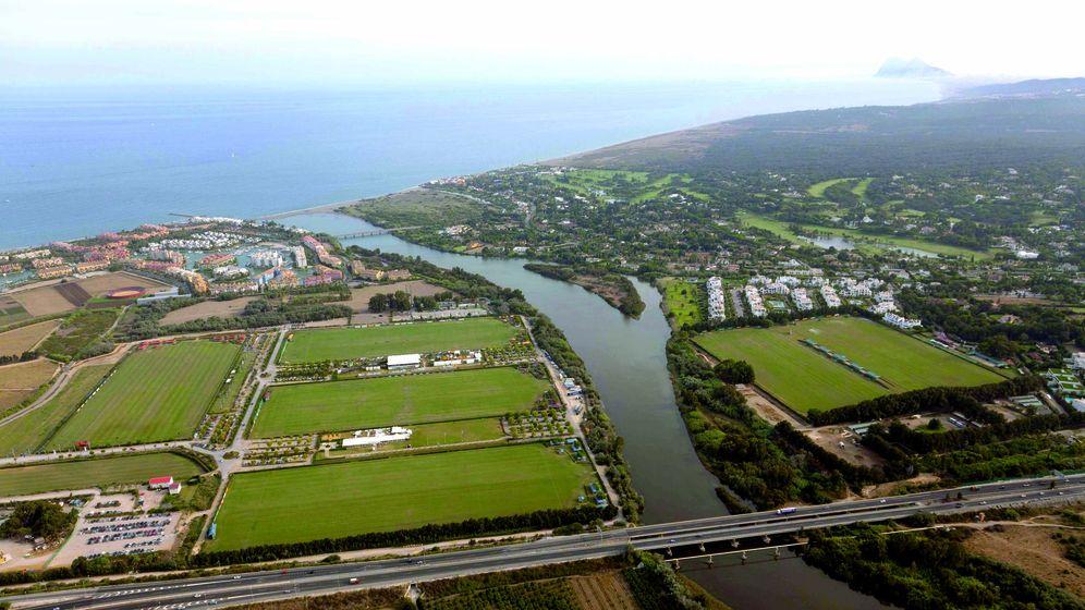 Foto: En la orilla izquierda, los terrenos de Santa María Polo Club. (Netco Investment)