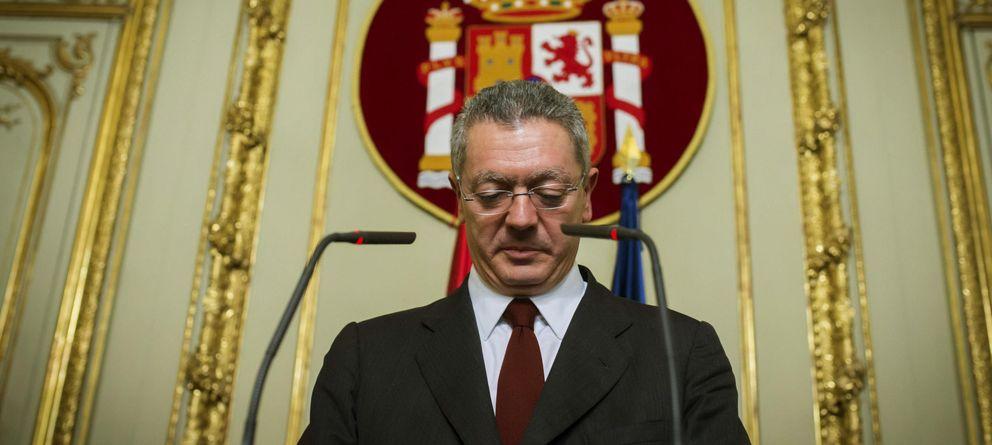 Foto: Alberto Ruiz-Gallardón anunció el martes que dejaba la política, su escaño y sus cargos en el PP. (Efe)