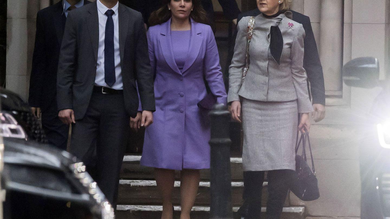 La princesa Haya, el pasado 28 de febrero en el tribunal londinense. (EFE)