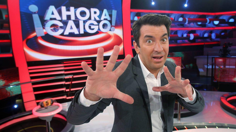 Arturo Valls en '¡Ahora caigo!'. (Atresmedia Televisión)
