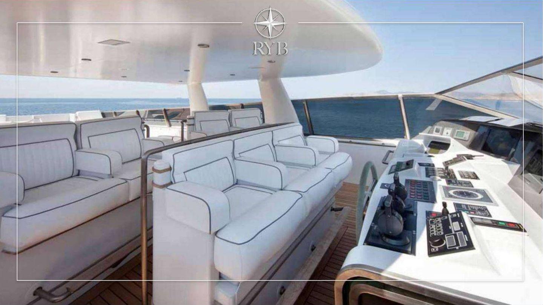 La espectacular cubierta. (Royal Yacht Brokers)