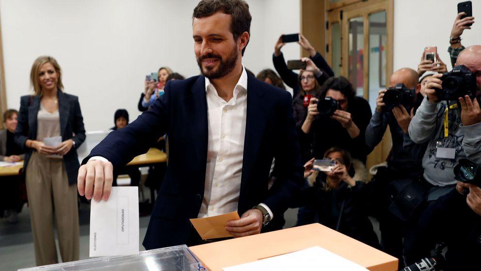 Pablo Casado insta a votar en estas elecciones generales para acabar con el desbloqueo político y decidir futuro