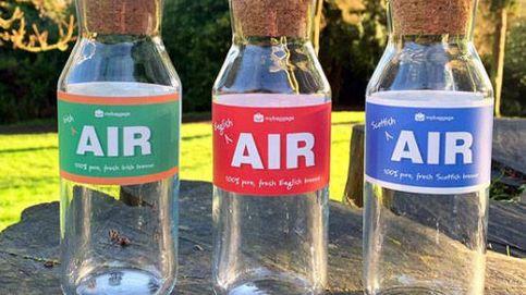 Reino Unido y el negocio de botellas de aire para nostálgicos