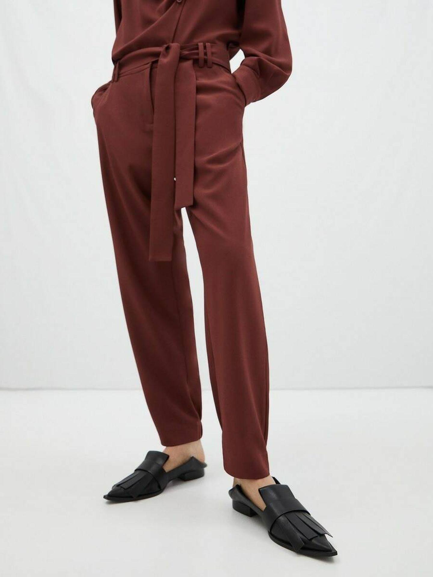 Pantalón de Adolfo Dominguez a la venta en El Corte Inglés. (Cortesía)