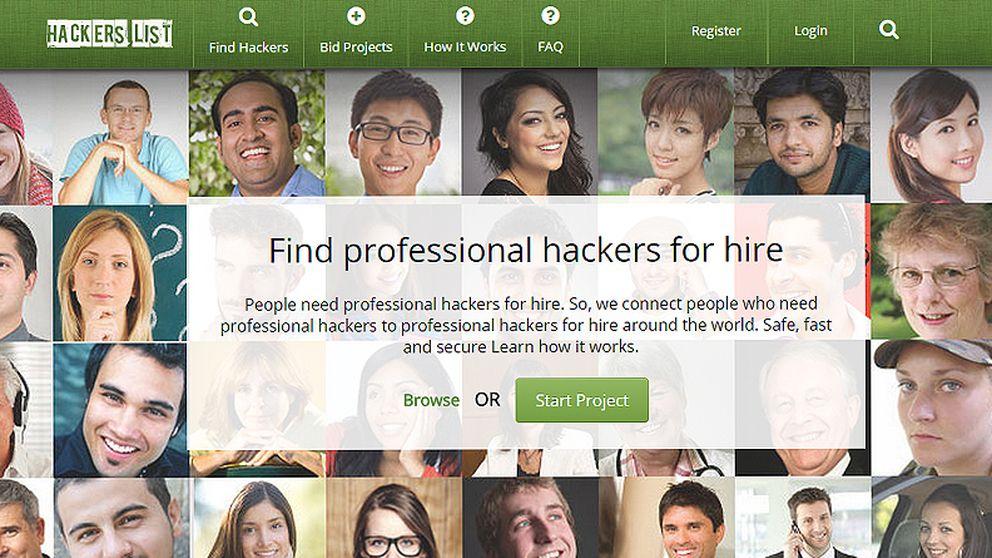 En esta web se contratan 'hackers' por obra y servicio