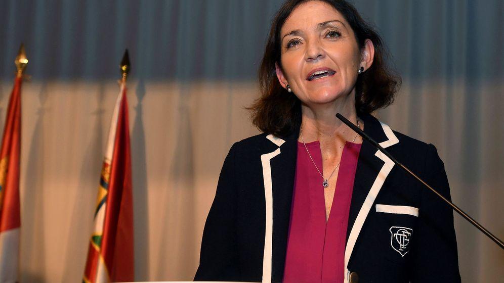 Foto:  La ministra de Industria, Comercio y Turismo, Reyes Maroto. (EFE)