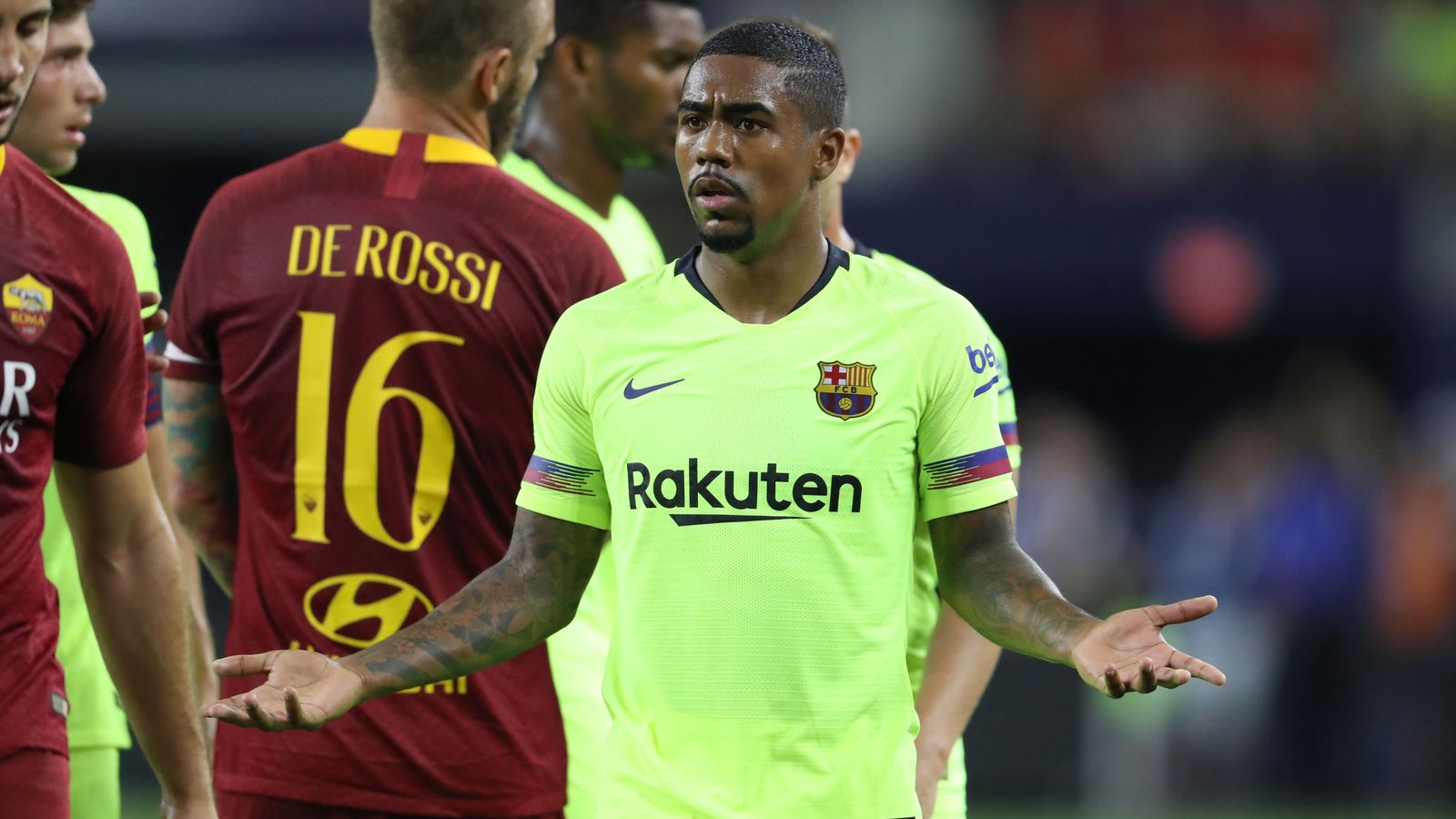 Foto: Valverde desconocía a Malcom. (Reuters)