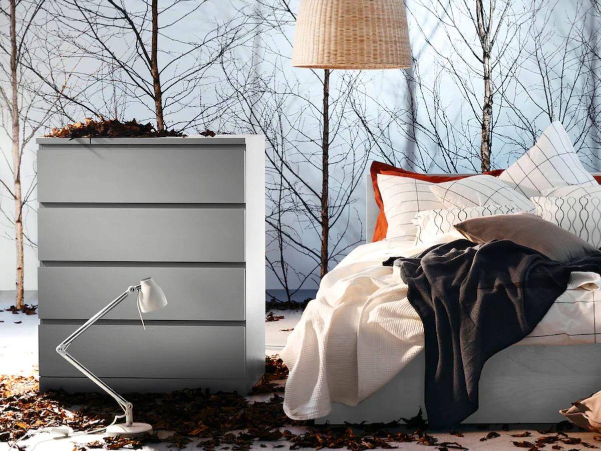 Foto: Cómoda de Ikea para dormitorios pequeños. (Cortesía)
