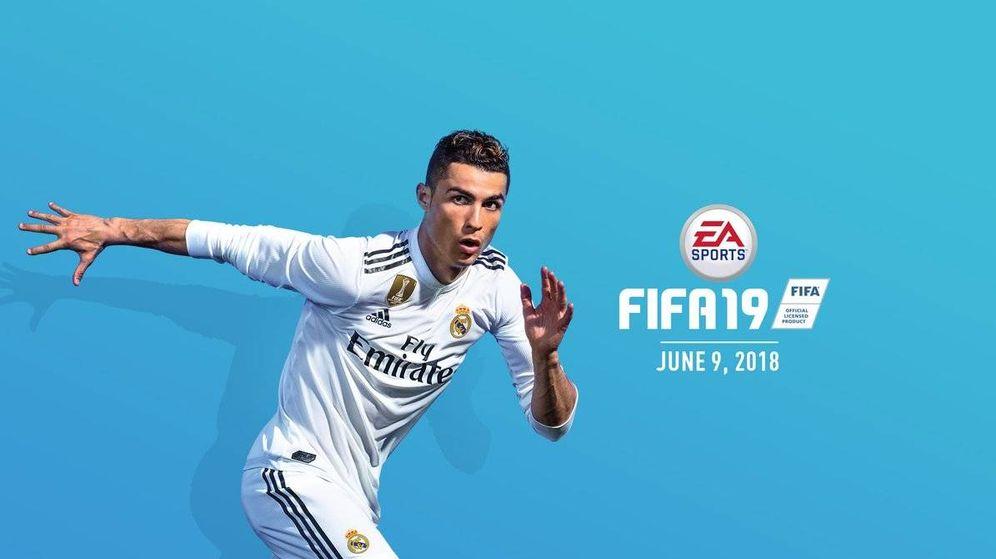 Foto: Cristiano Ronaldo, en las imágenes promocionales de FIFA 19.