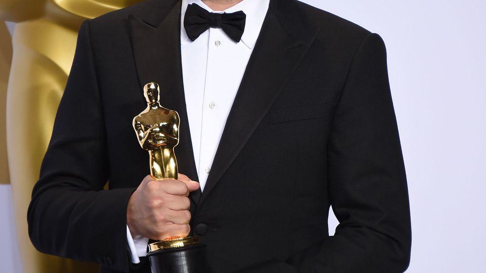 Foto: Leonardo DiCaprio recogiendo su Oscar
