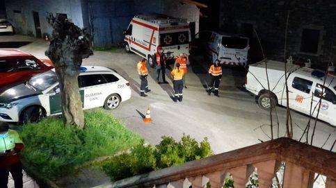 Rescatan a un espeleólogo herido en una sima vertical de una cueva en Arredondo (Cantabria)