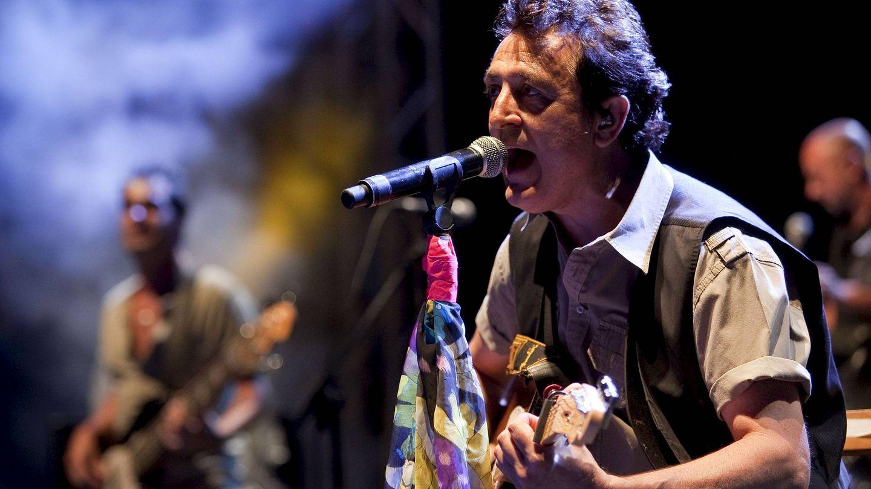 Manolo García en un concierto en Gran Canaria en el 2009. (EFE)