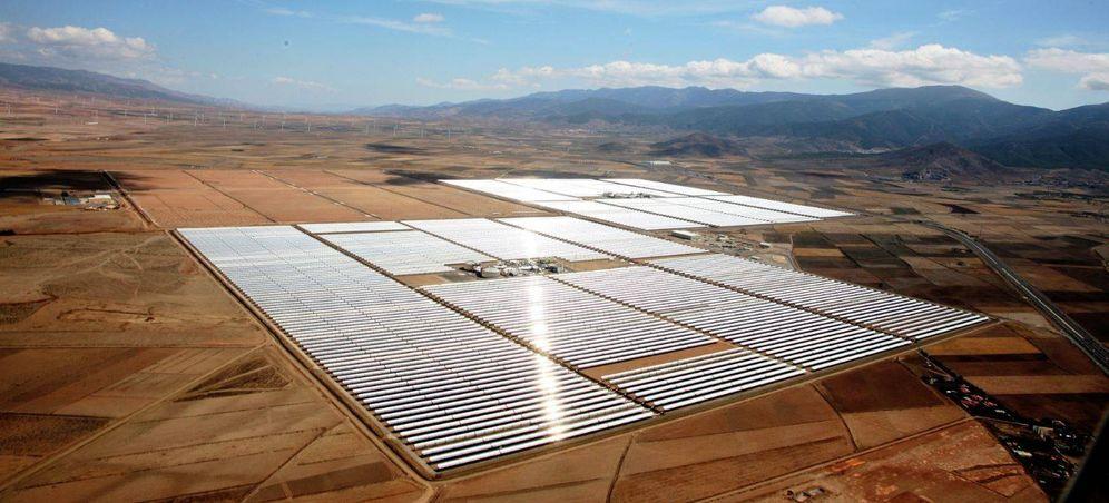Foto: La planta termosolar de Andasol, en Granada.
