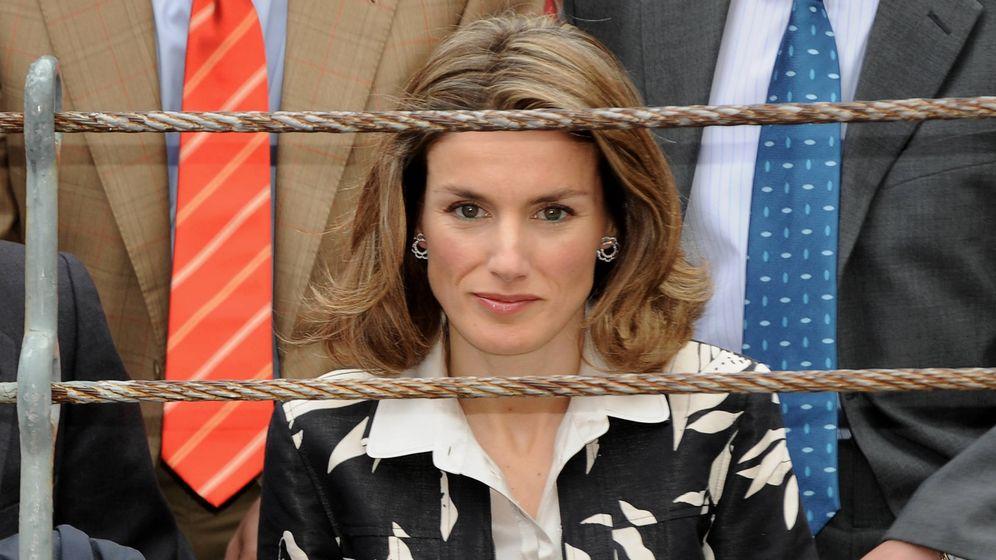 Foto: La reina Letizia en los toros en 2007. (Getty)