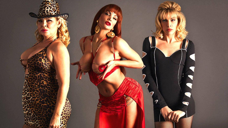 Una imagen promocional de la serie 'Veneno', de Javier Calvo y Javier Ambrossi, con las tres actrices. (Atresplayer)