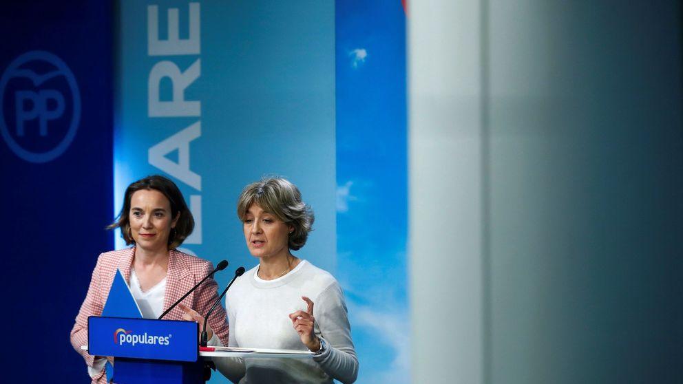 El PP escenifica el cambio con Gamarra y Tejerina y presume de 60.000 candidatos