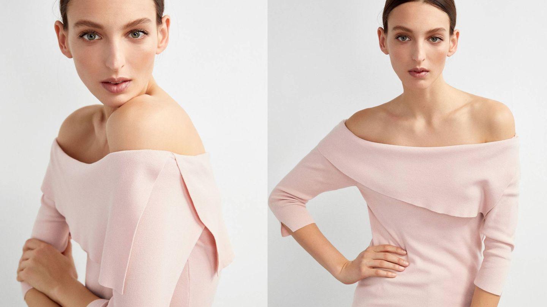 El tejido te permitirá jugar con el escote para que cubra los hombros como prefieras. (Cortesía)
