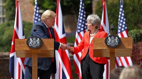 Trump, el euroescéptico: torpedea a May por sus concesiones al 'Brexit blando'
