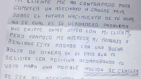 La carta amenazante a una concejala del PSOE: Asesinaré a tu hija