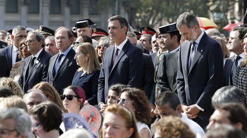 Directo | El Rey, Sánchez y Torra, en el homenaje a las víctimas de los atentados