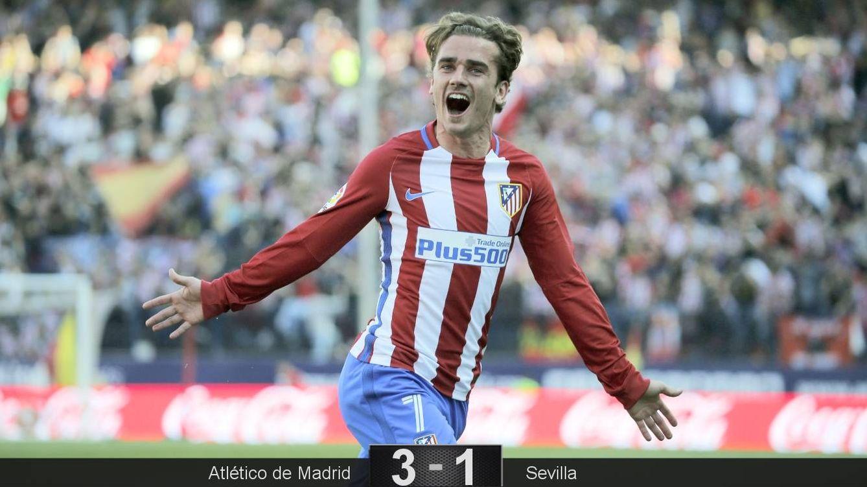 Foto: Griezmann celebra su gol. (EFE)