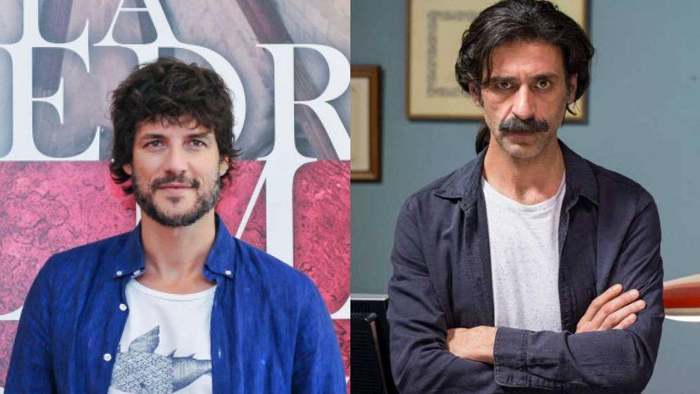 Foto: Daniel Grao y Nacho Fresneda, compañeros de reparto de Coronado.