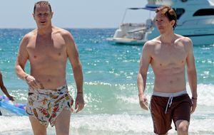 Jorge Cadaval y Kenneth Appledorn, bajo el sol de Ibiza