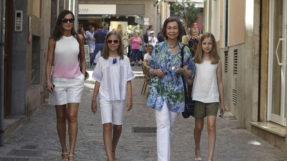 Sofía, Letizia y Leonor: tres generaciones con un vínculo muy distinto con Mallorca