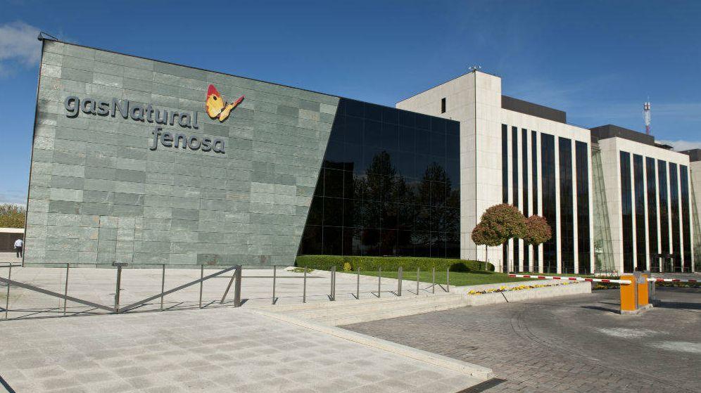 Foto: Sede de Gas Natural Fenosa en la avenida de San Luis de Madrid.
