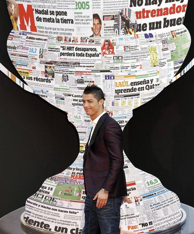 Foto: Entrega de los premios de fútbol 2012 del diario 'Marca'. (EFE)