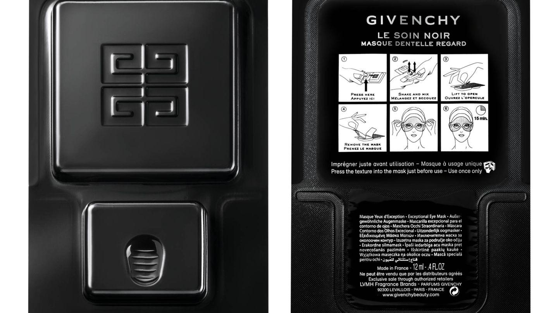 Masque Dentelle Regard de Givenchy. (Cortesía)