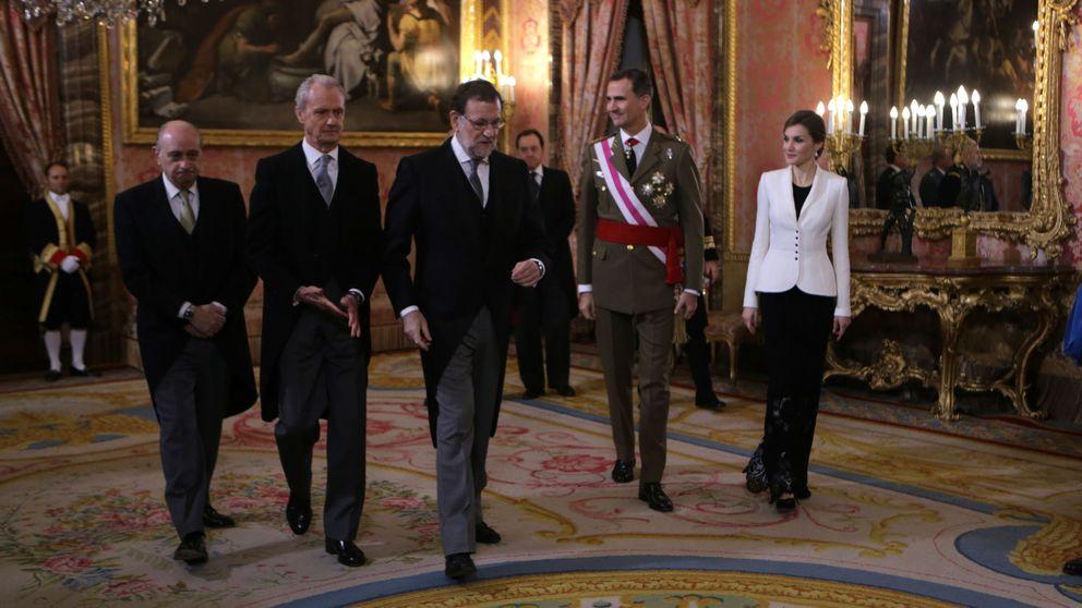 Los Reyes Felipe VI y Letizia, cómplices en la Pascua Militar