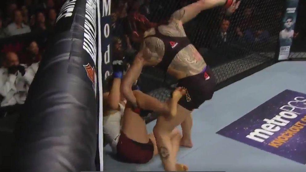 Cris Cyborg, la luchadora más violenta de la UFC aniquila a su rival en 205 segundos