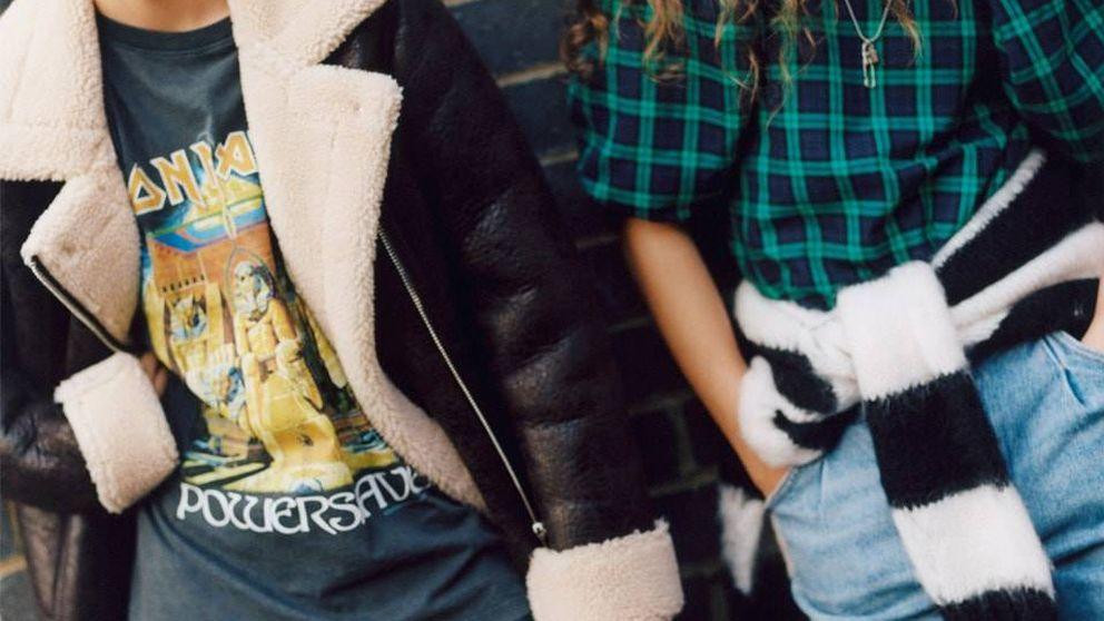 El mejor Seattle de la década de los 90 llega a Bershka con este vestido y esta falda ideales