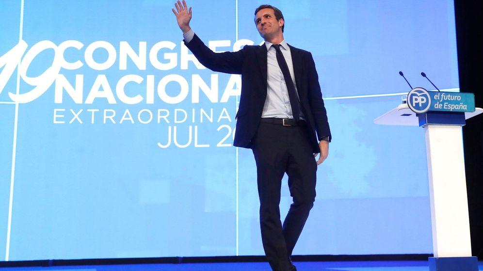 Foto: El presidente del PP Pablo Casado. (EFE)