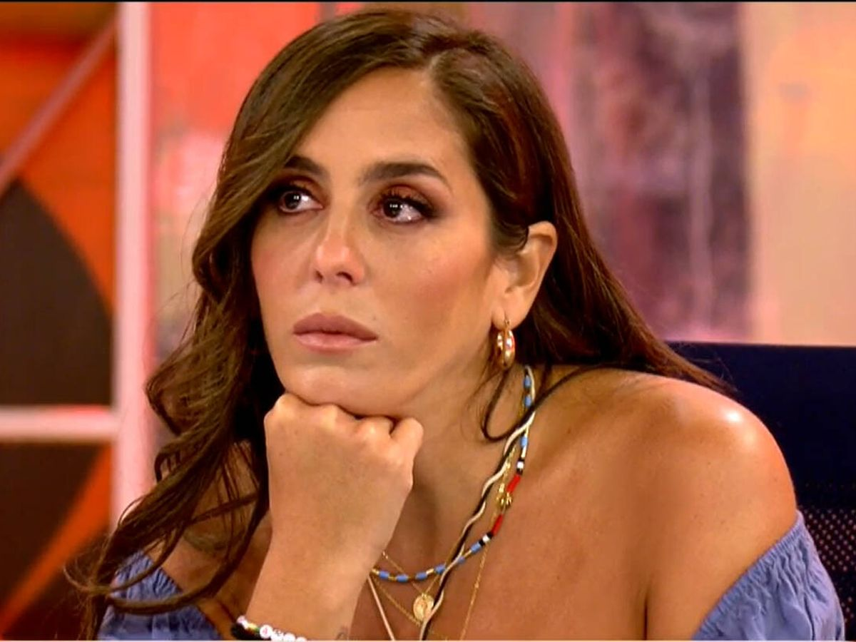 Foto: Anabel Pantoja, en 'Sálvame'. (Telecinco)