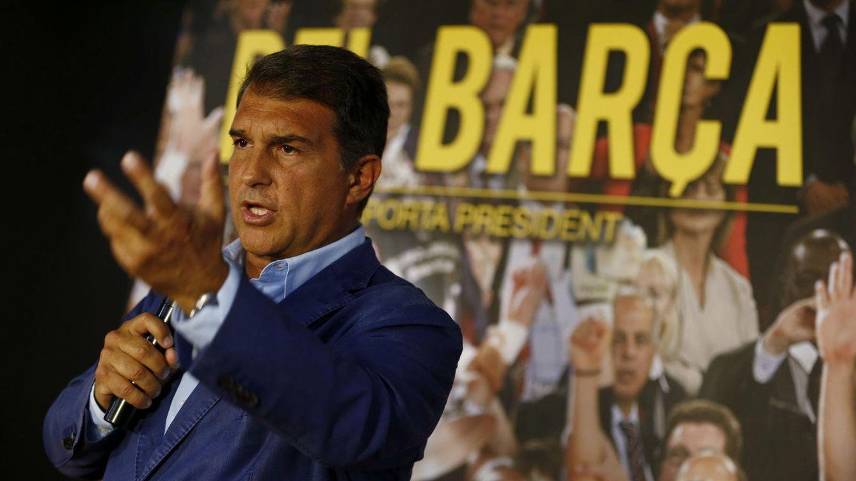 Foto: El expresidente del FC Barcelona y precandidato a las elecciones a presidente de la entidad, Joan Laporta. (EFE)