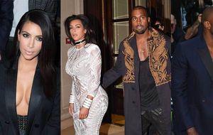 Kanye lleva más escote que Kim