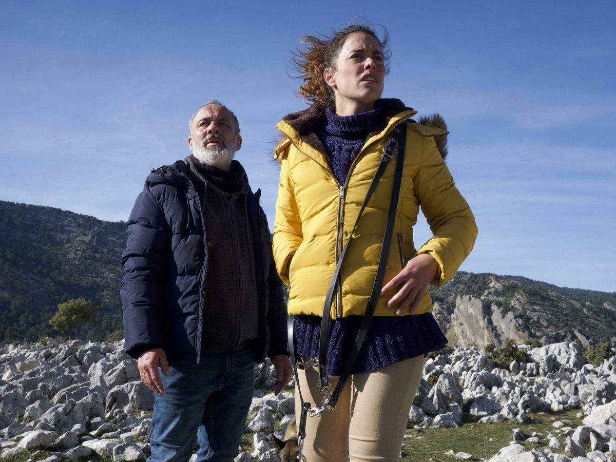 Foto: Javier Gutiérrez y Patricia López Arnaiz en 'La hija'. (Caramel)