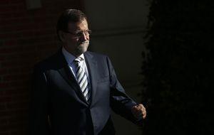 La patada en la puerta de Mariano Rajoy antes de reunirse con Mas