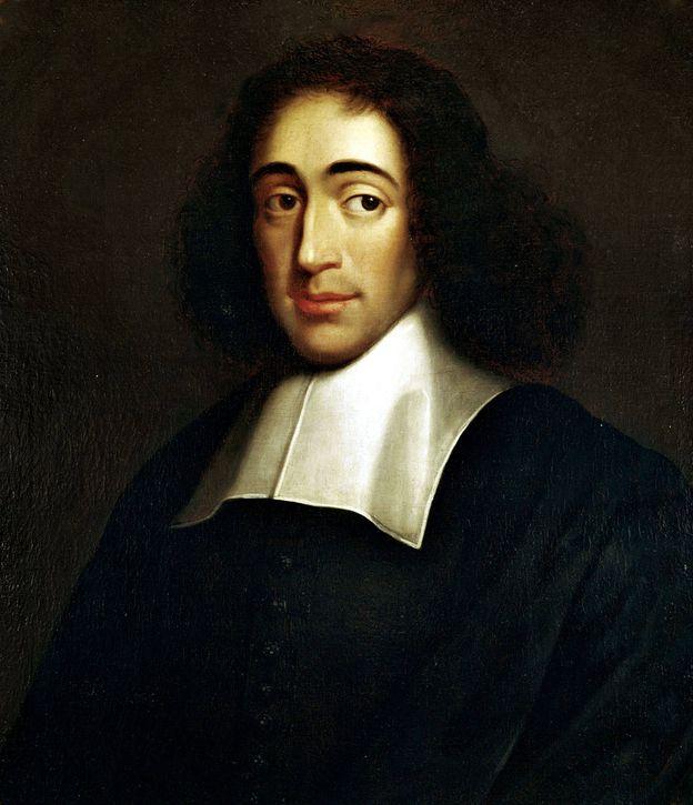 Foto: Retrato de Baruch Spinoza realizado por un autor anónimo.