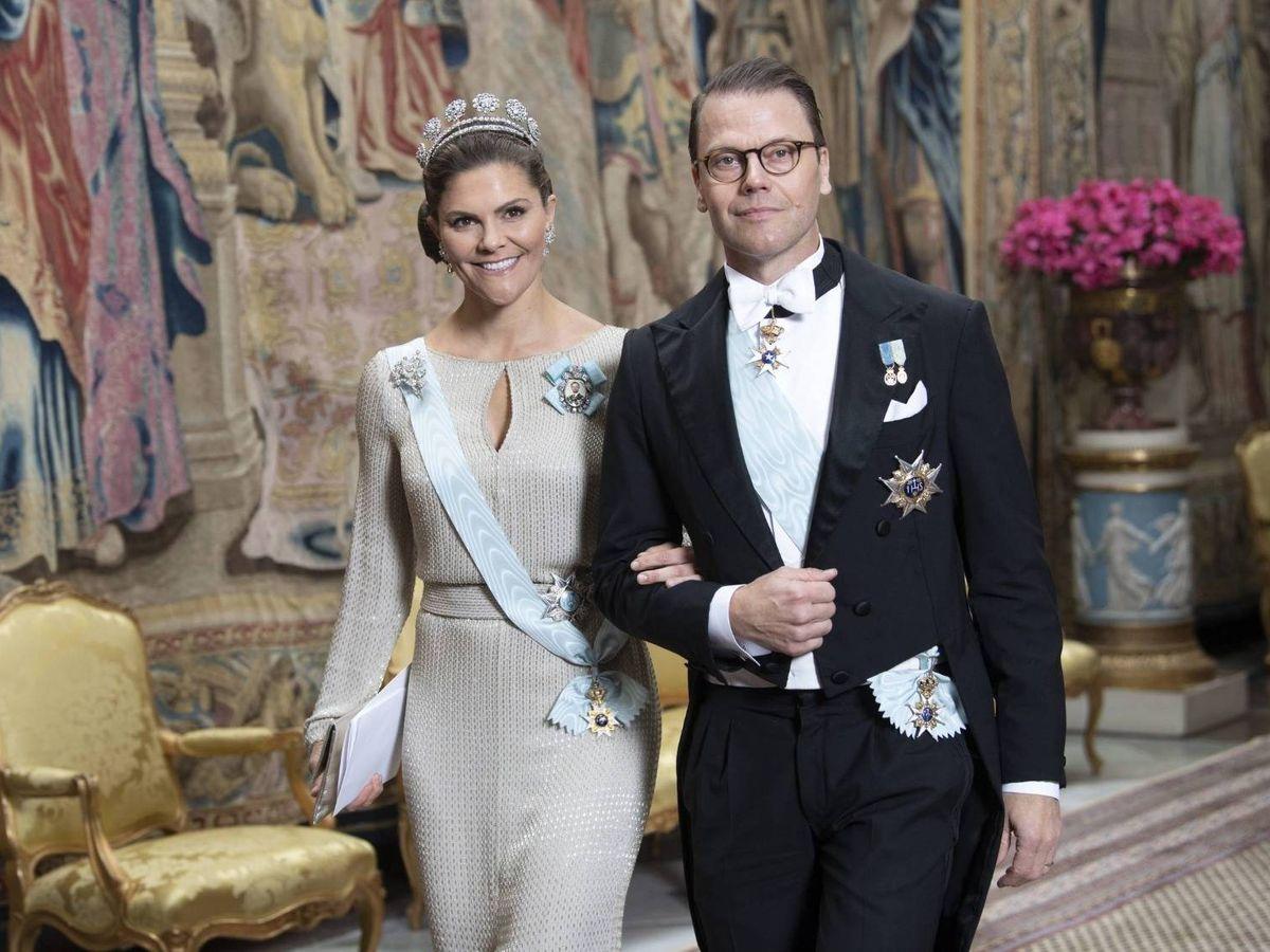 Foto: Victoria y Daniel de Suecia.