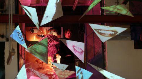 El hielo cubre las casas en Dinamarca y arte temporal en Berlín: el día en fotos