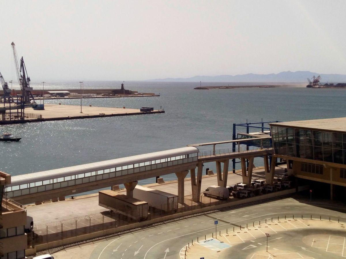 Foto: Puerto de Melilla. (EFE)
