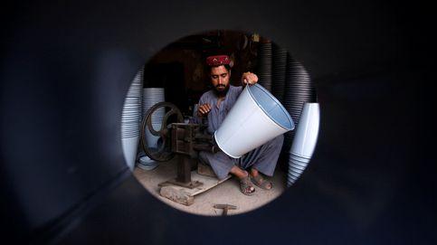 Un artesano en Peshawar