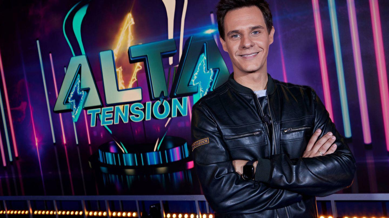 Christian Gálvez, presentador de 'Alta tensión'. (Mediaset)