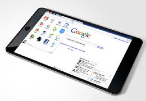 El 'iPad' de Google, en noviembre