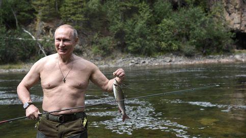 Las austeras vacaciones de Putin: de pesca en Siberia (todo un día para un pez)