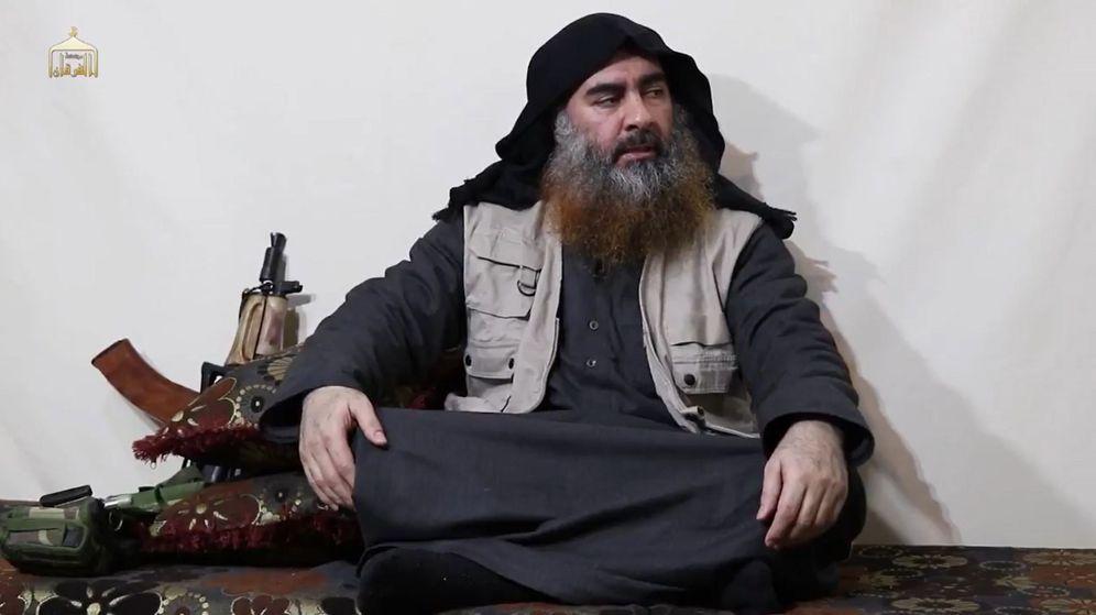 Foto: Vídeo de líder del estado Islámico (EI) Abu Bakr al-Baghdadi